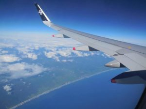 飛行機空中