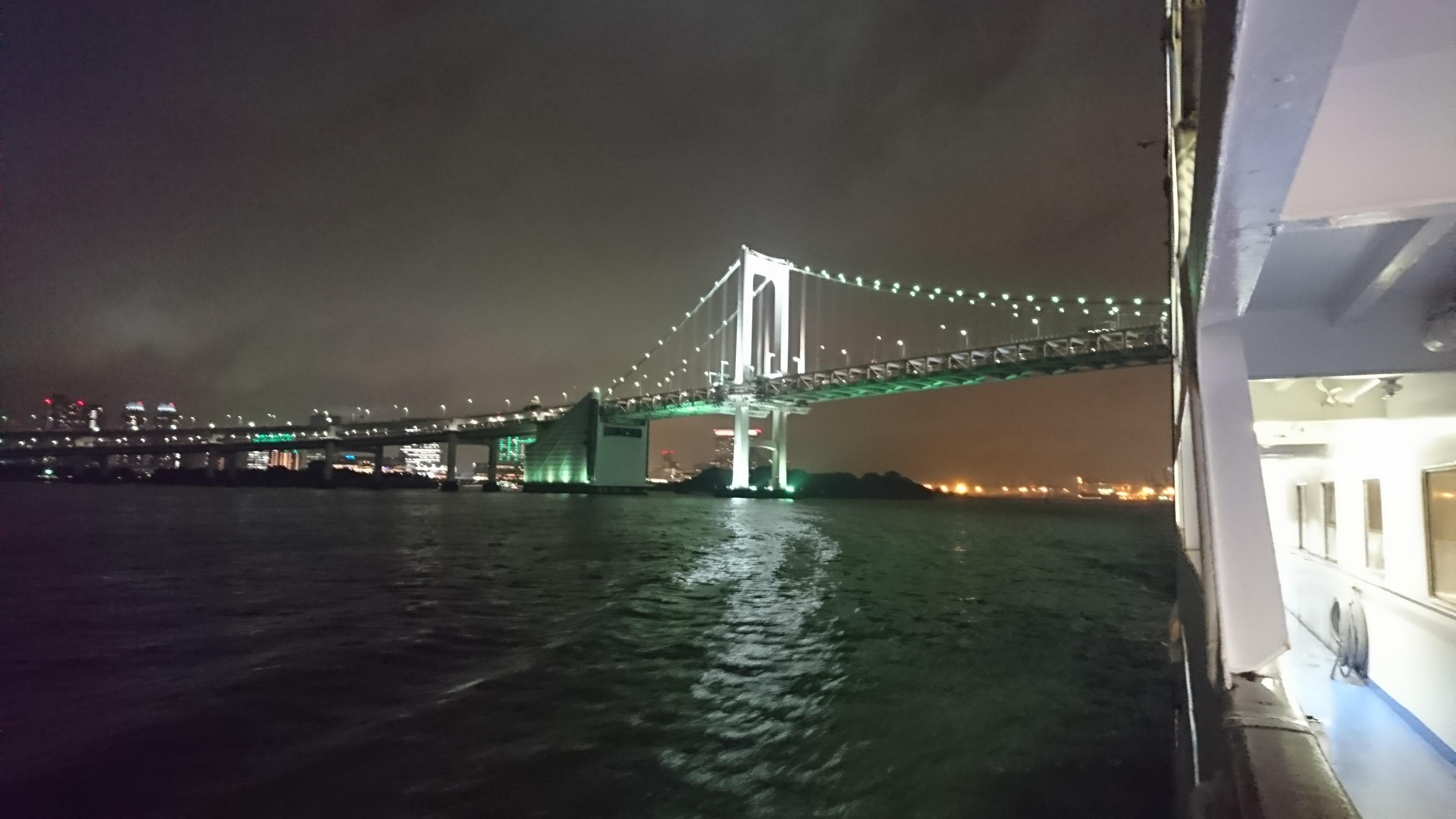 レインボーブリッチ夜景