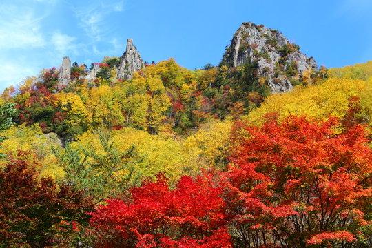 層雲峡温泉紅葉