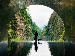 清津峡峡谷トンネル